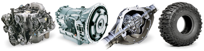 Transaxles, Differentials, Engines, Transmissions
